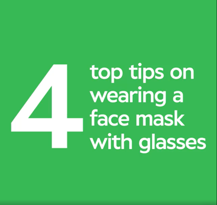 4 top tips for glasses wearers now sporting a face mask