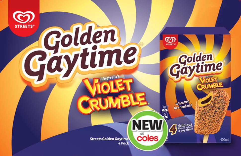 NEW Golden Gaytime