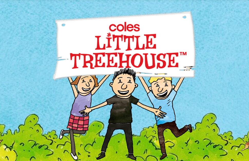Coles Little Treehouse arrives at Coles Lake Haven