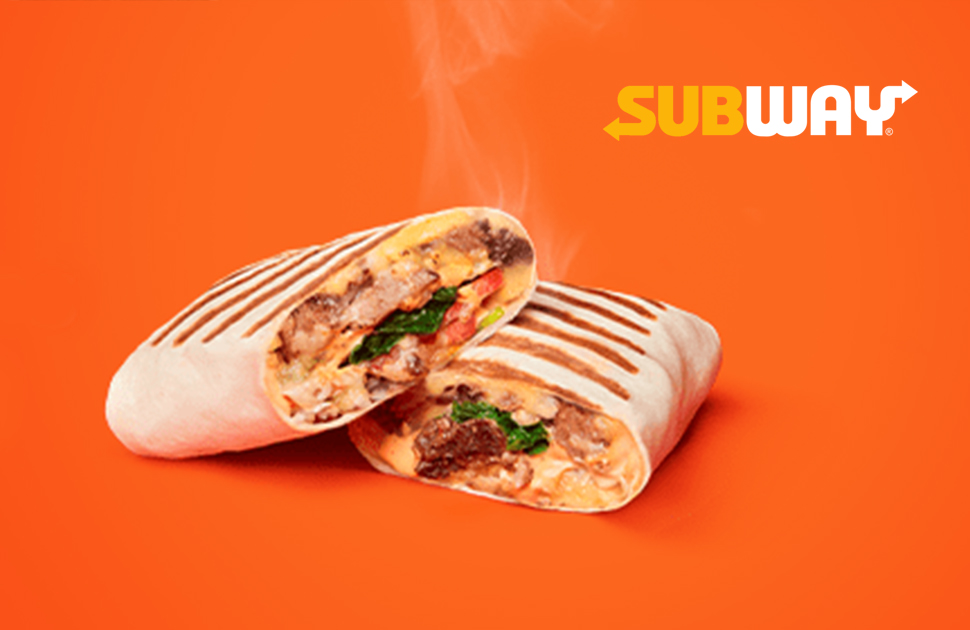 Hot New, Grilled Wraps
