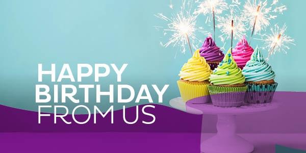 Happy Birthday From Us!