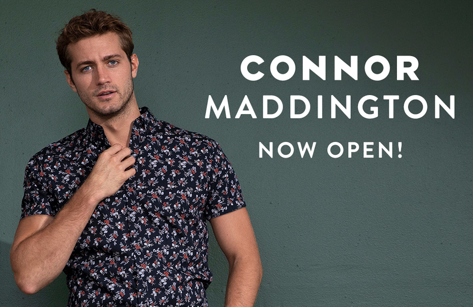 Connor Now Open