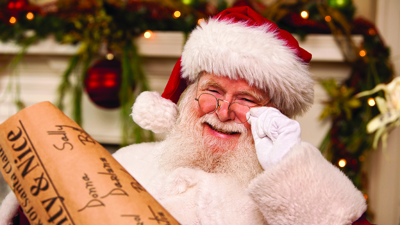 It's time for a little Santa joy!