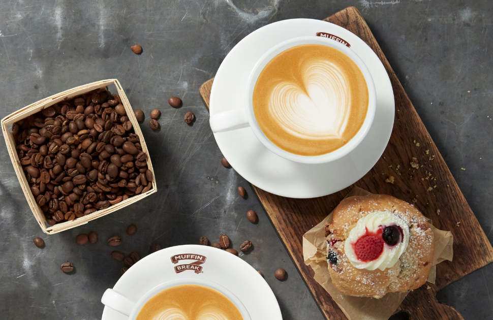 Get your FREE COFFEE at Muffin Break.