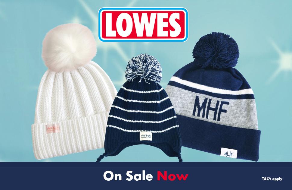 Lowes x Mark Hughes Foundation Beanies