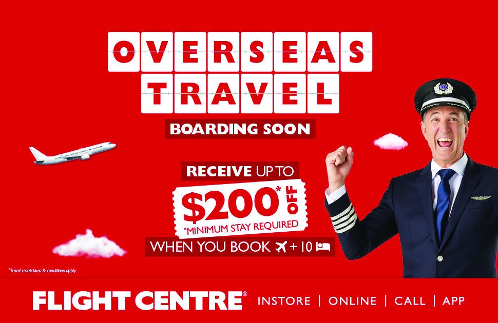 Flight Centre Offer