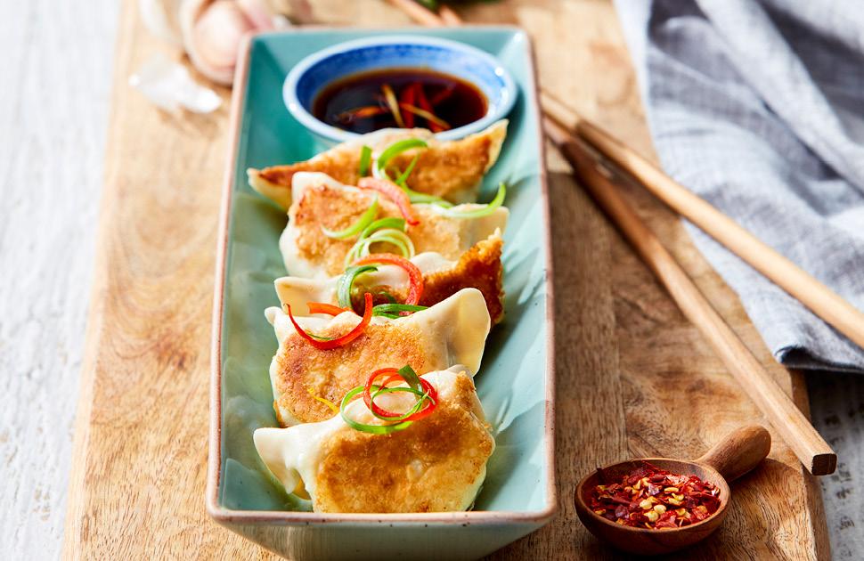 Shanghai Pan Fried Dumplings