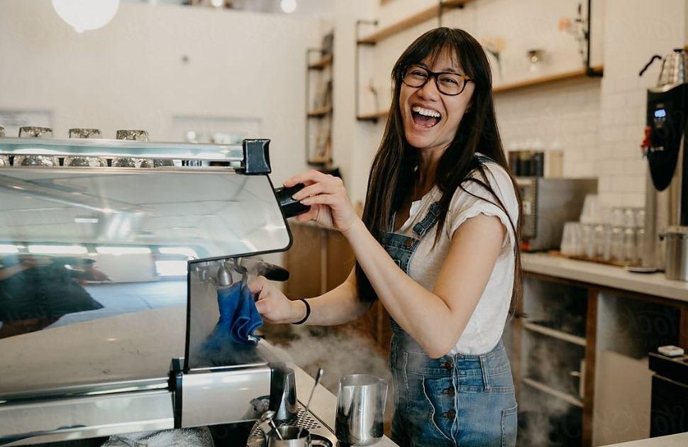 Meet Mel, Proud Barista at Gloria Jeans Coffee