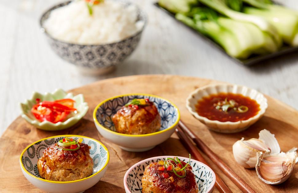Shanghainese Lion's Head Meatballs