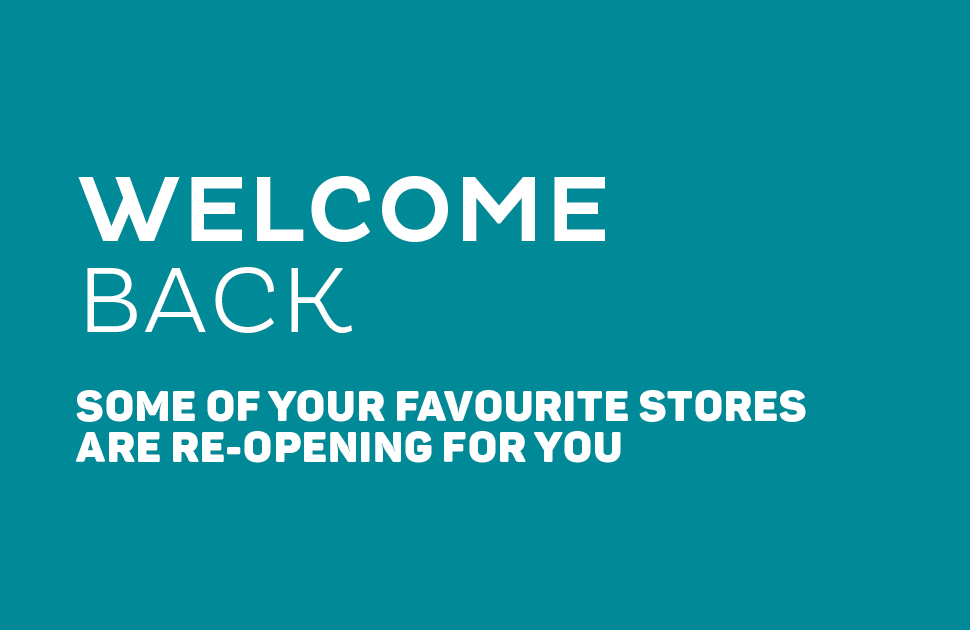 Welcome back! - store updates
