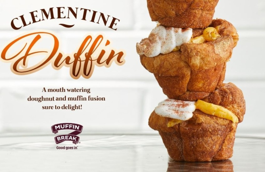 Muffin Break's New Clementine Duffin