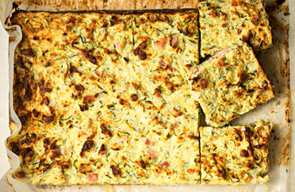 Yummy Frittata Slice