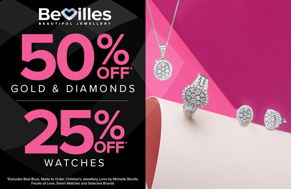 Bevilles Gold & Diamond Sale