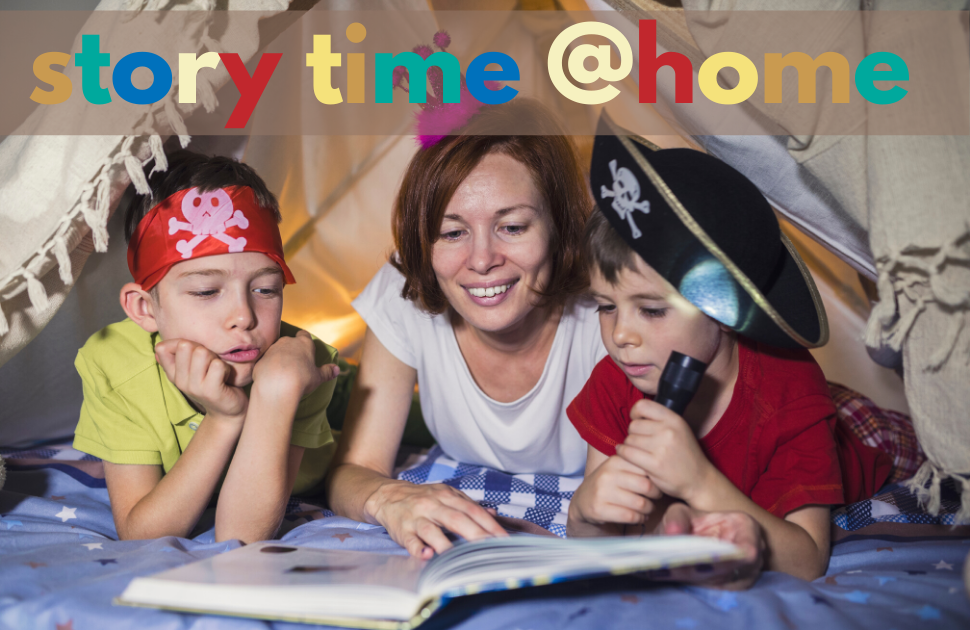Enjoy story time at home!