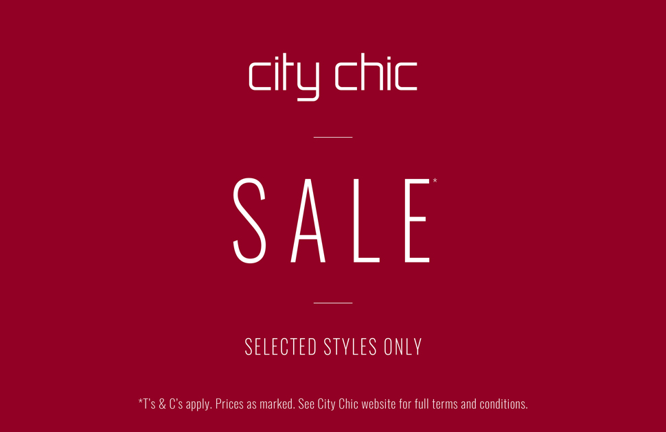 Shop the City Chic sale in store!
