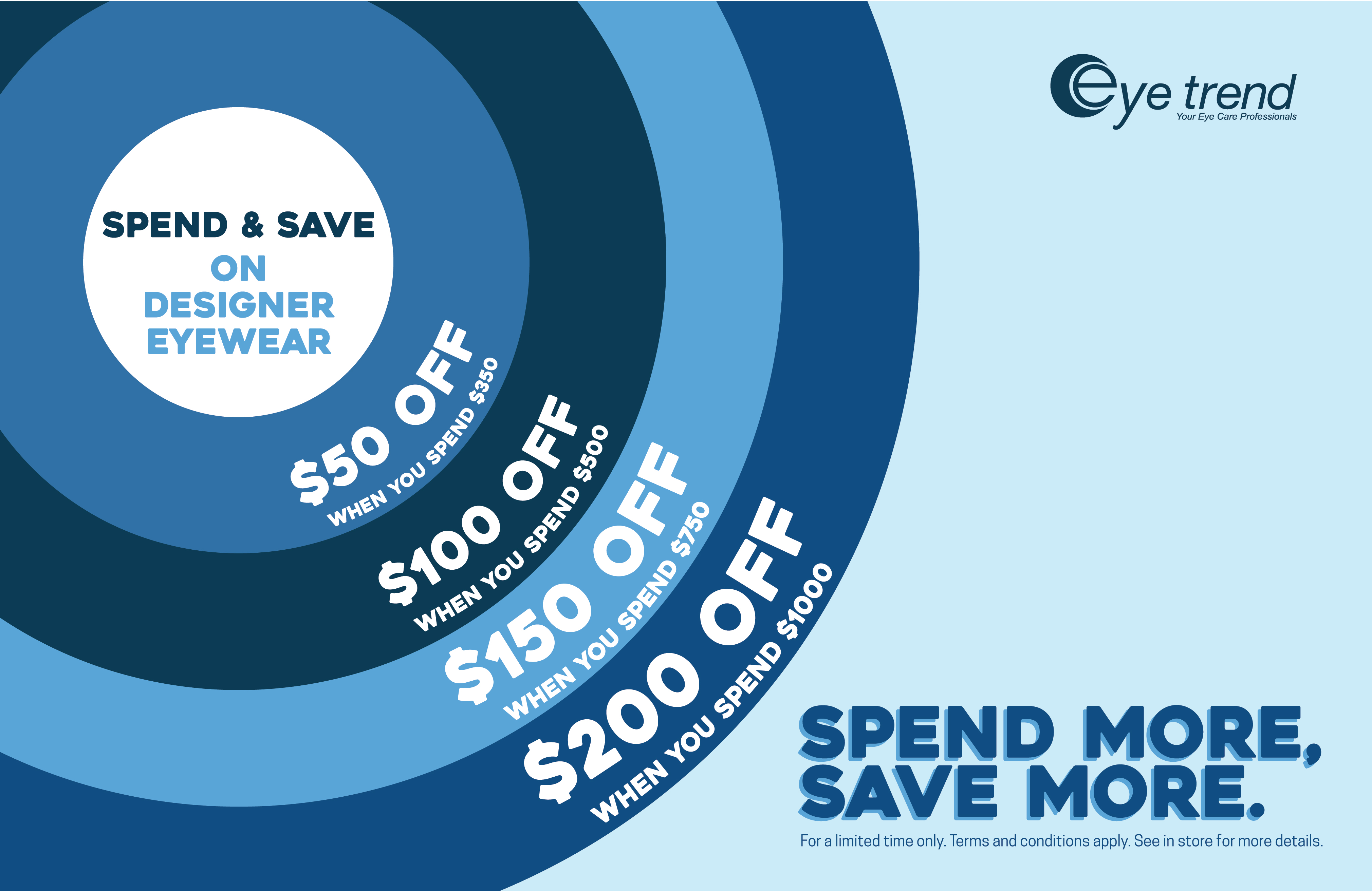 Eye Trend's Spend & Save Sale