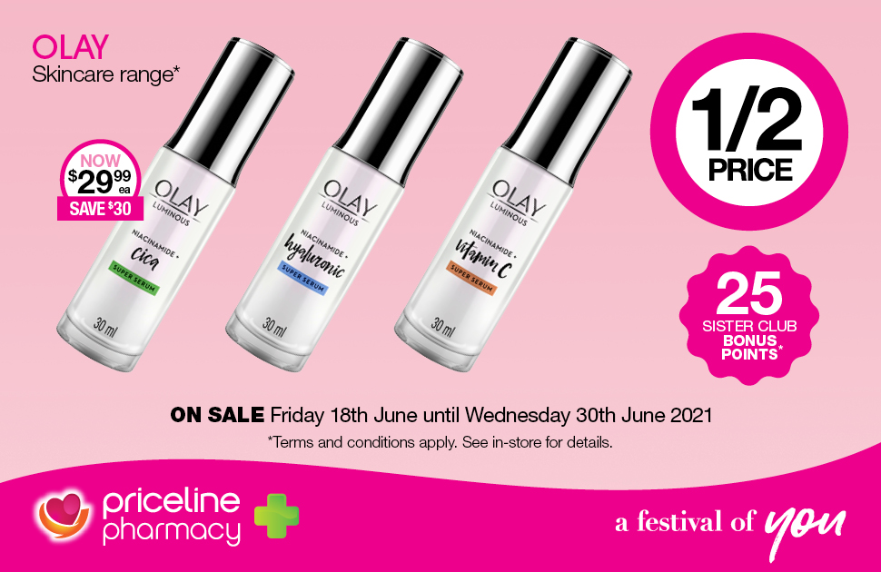 Priceline Pharmacy's June Catalogue Offers