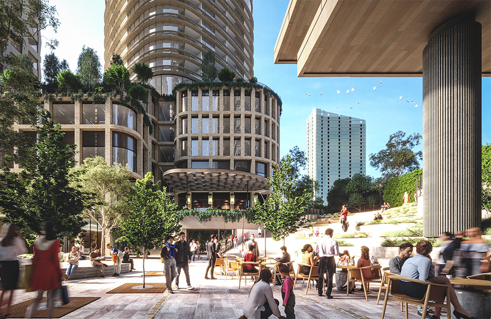 Box Hill Development: Public Space