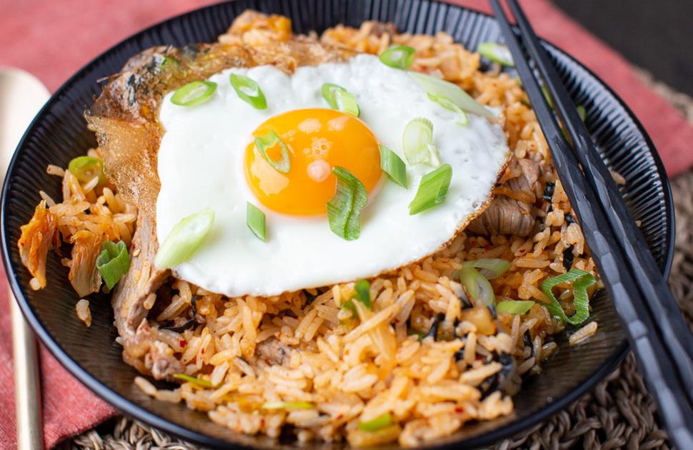 Kim chi fried rice recipe