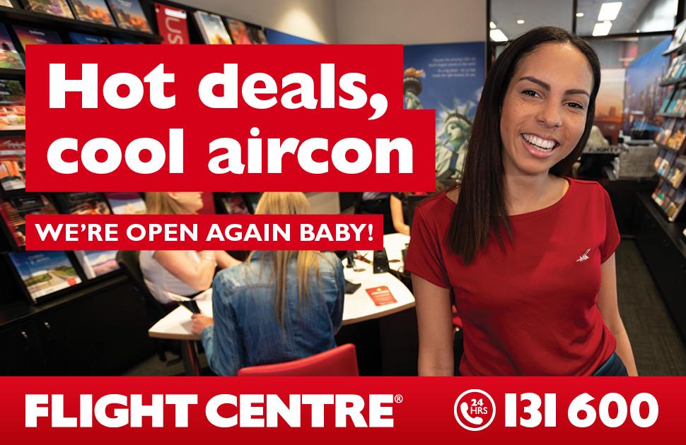 Flight Centre are back!