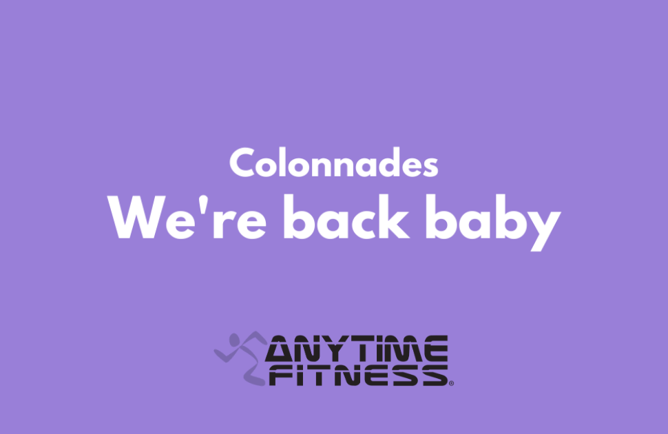 Anytime Fitness Are Back!