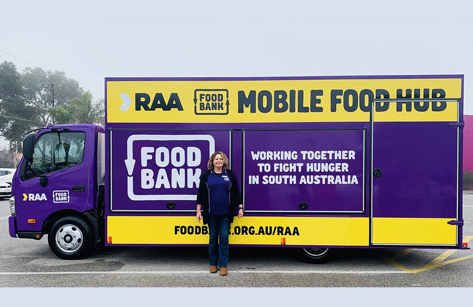 RAA Foodbank Mobile Food Hub