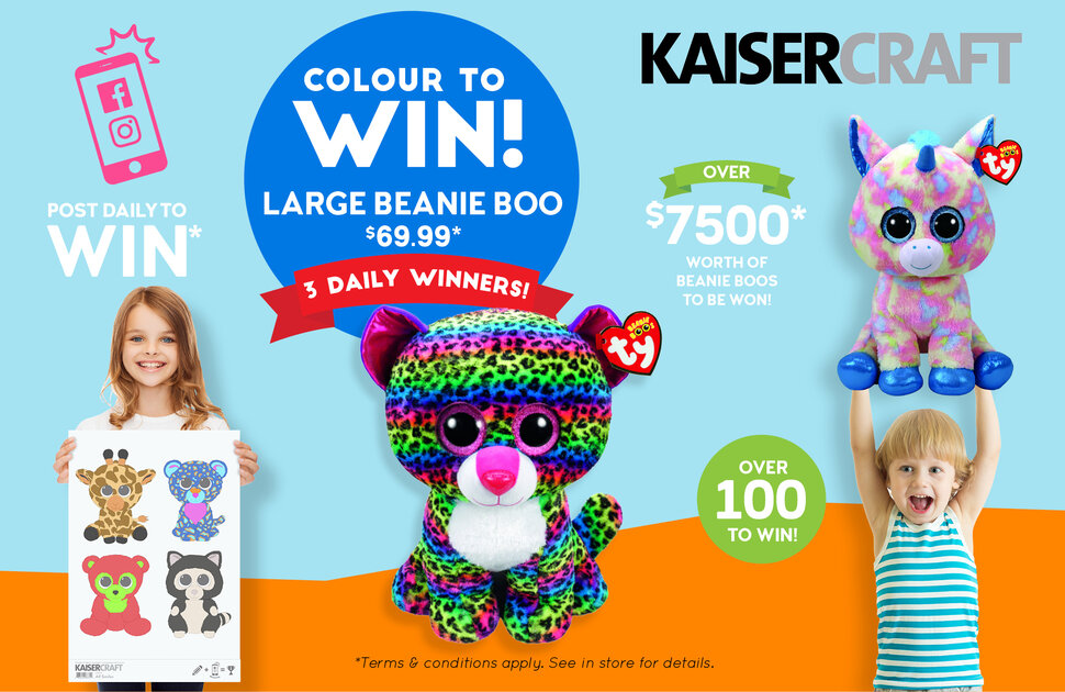 Kaisercraft's Colour to Win Competition