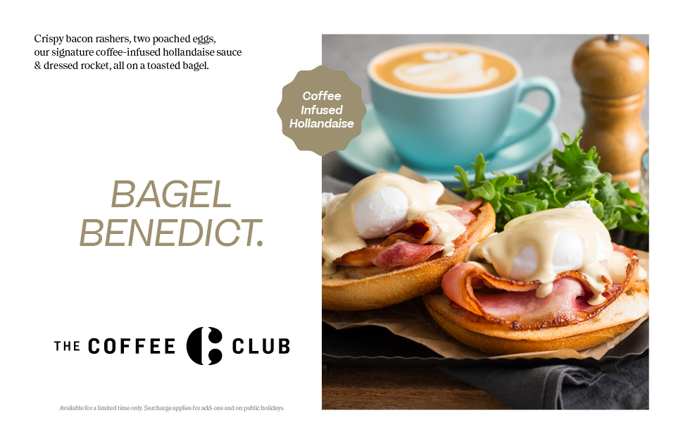 Introducing The Coffee Club's New Bagel Range