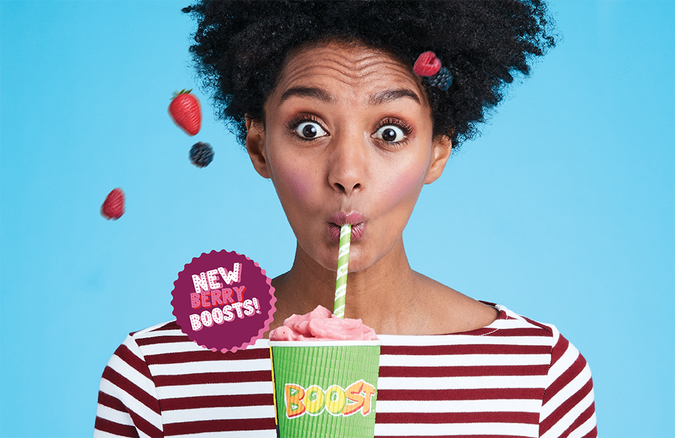 Boost Juice's NEW Berry Range