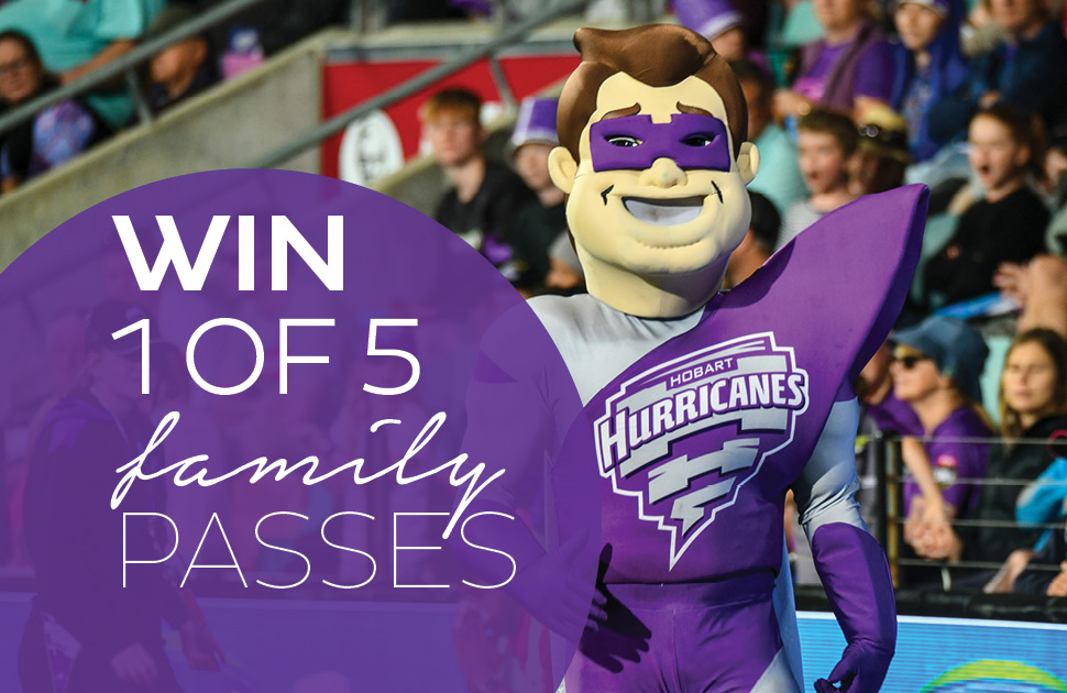 Win a Family Pass to see The Hurricanes