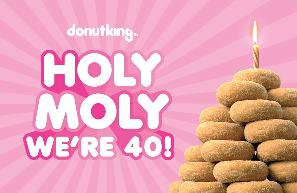 Happy Birthday Donut King