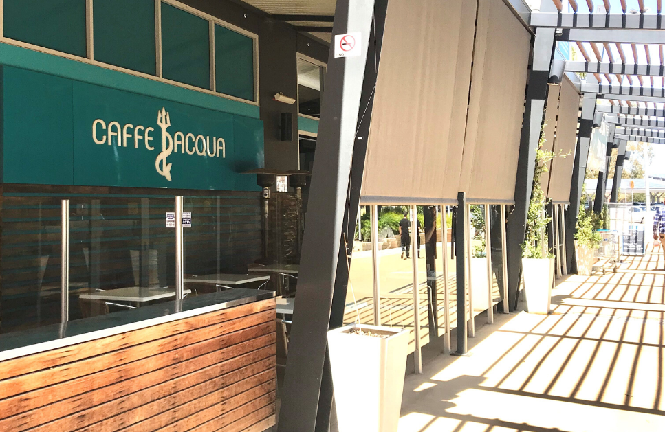 Caffe Acqua: Big Menu, Delicious Food