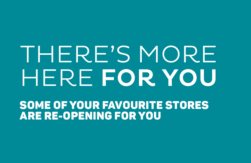 There's more here for you – store updates