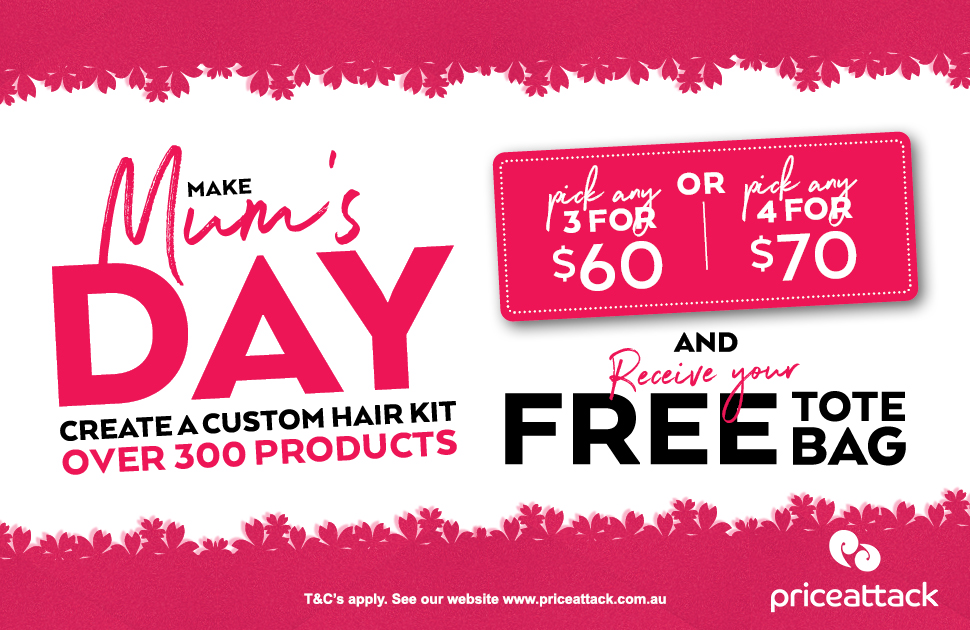 Price Attack's Mother's Day Offer