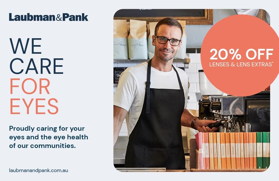 Laubman & Pank's Lens Sale