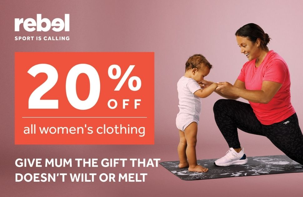 20% Off All Women's Clothing