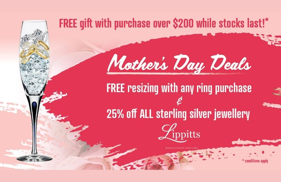 Free gift from Lippitts Manufacturing Jewellers
