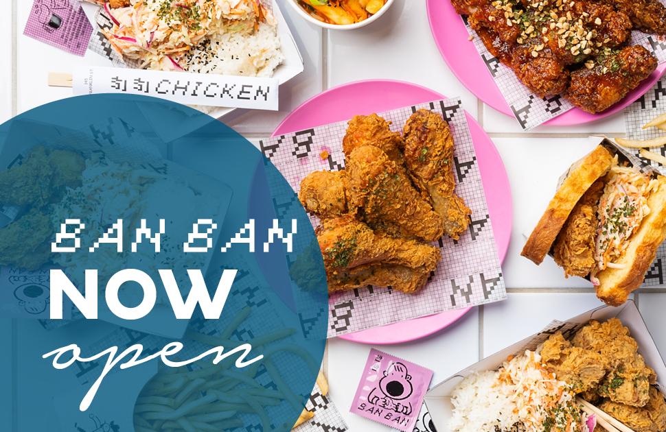 BanBan Elizabeth Now Open