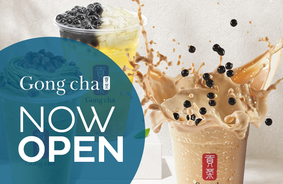 Gong Cha Now Open
