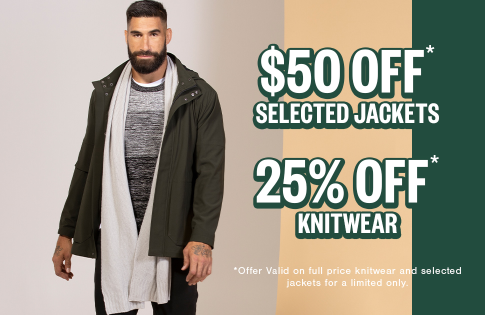 Johnny Bigg's Jacket & Knitwear Sale