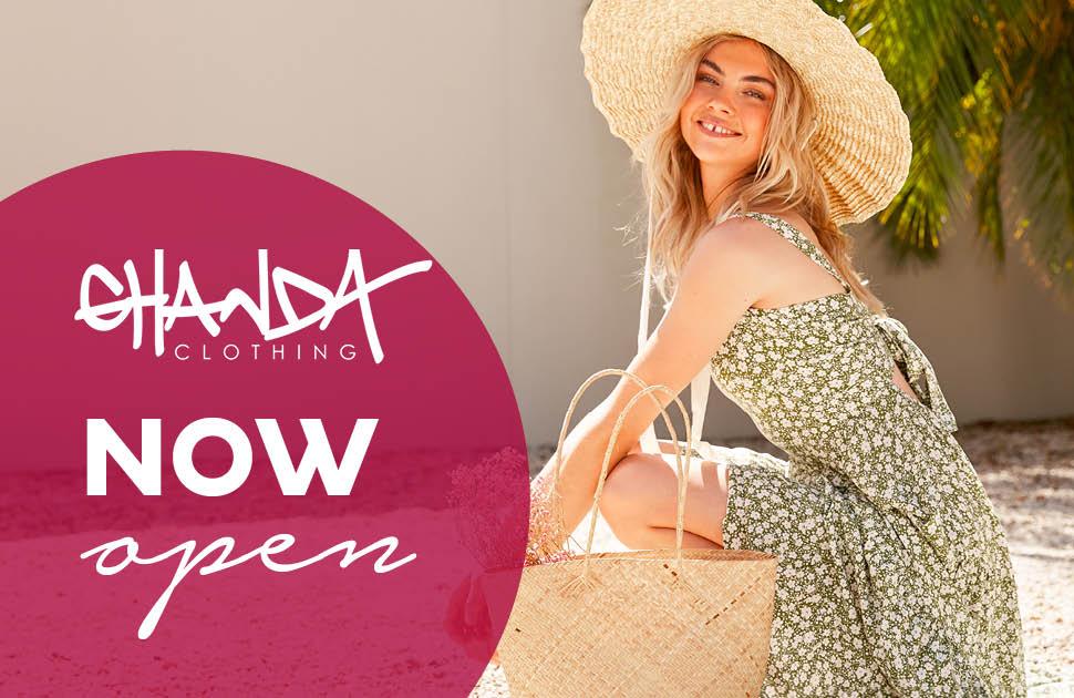 Ghanda Clothing Now Open