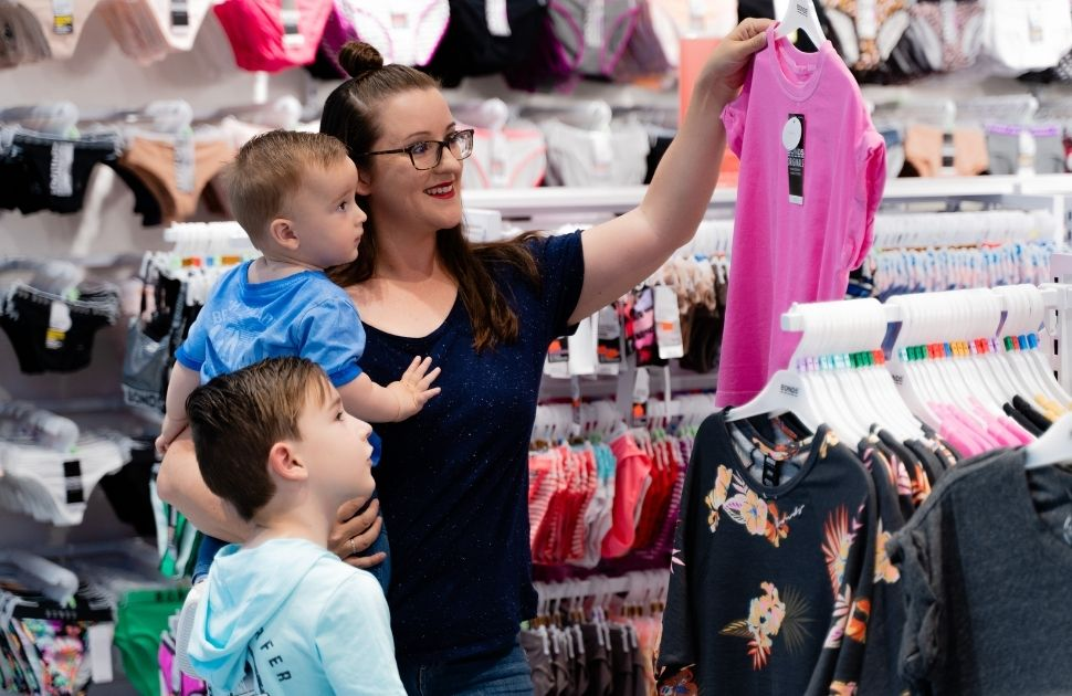 Shopping with little ones