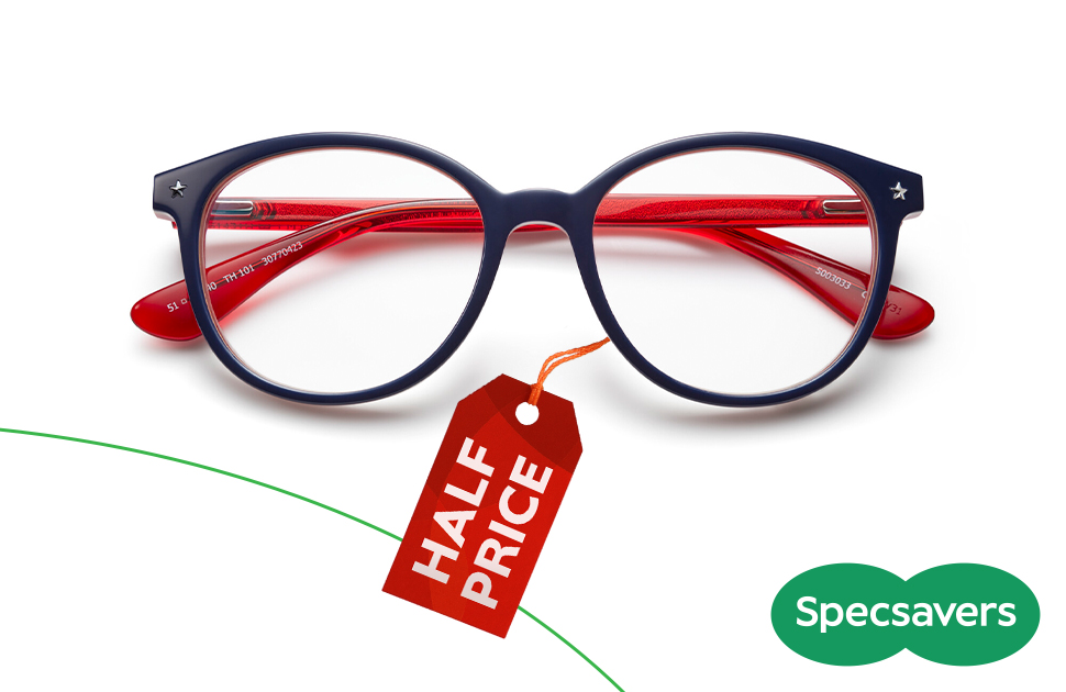 Specsavers 50% off sale