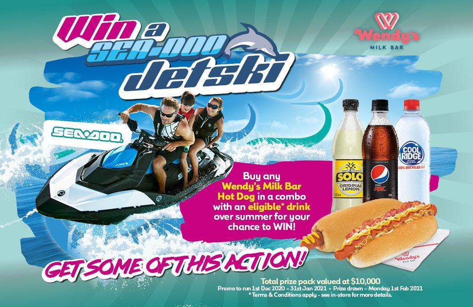 WIN a Sea-Doo Jet Ski