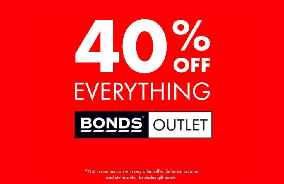 Bonds Outlet Sale