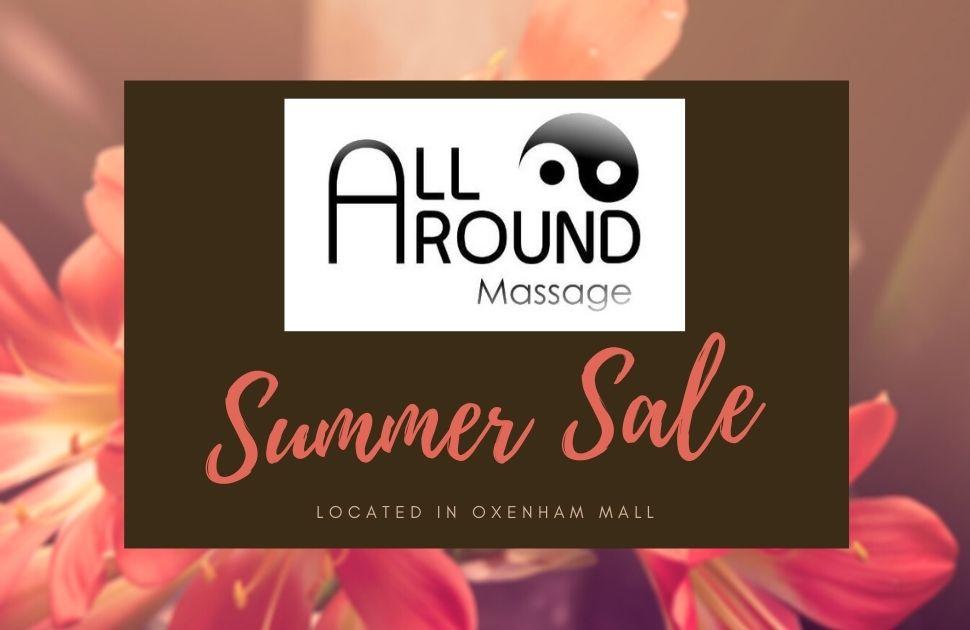 All Around Massage Summer Sale