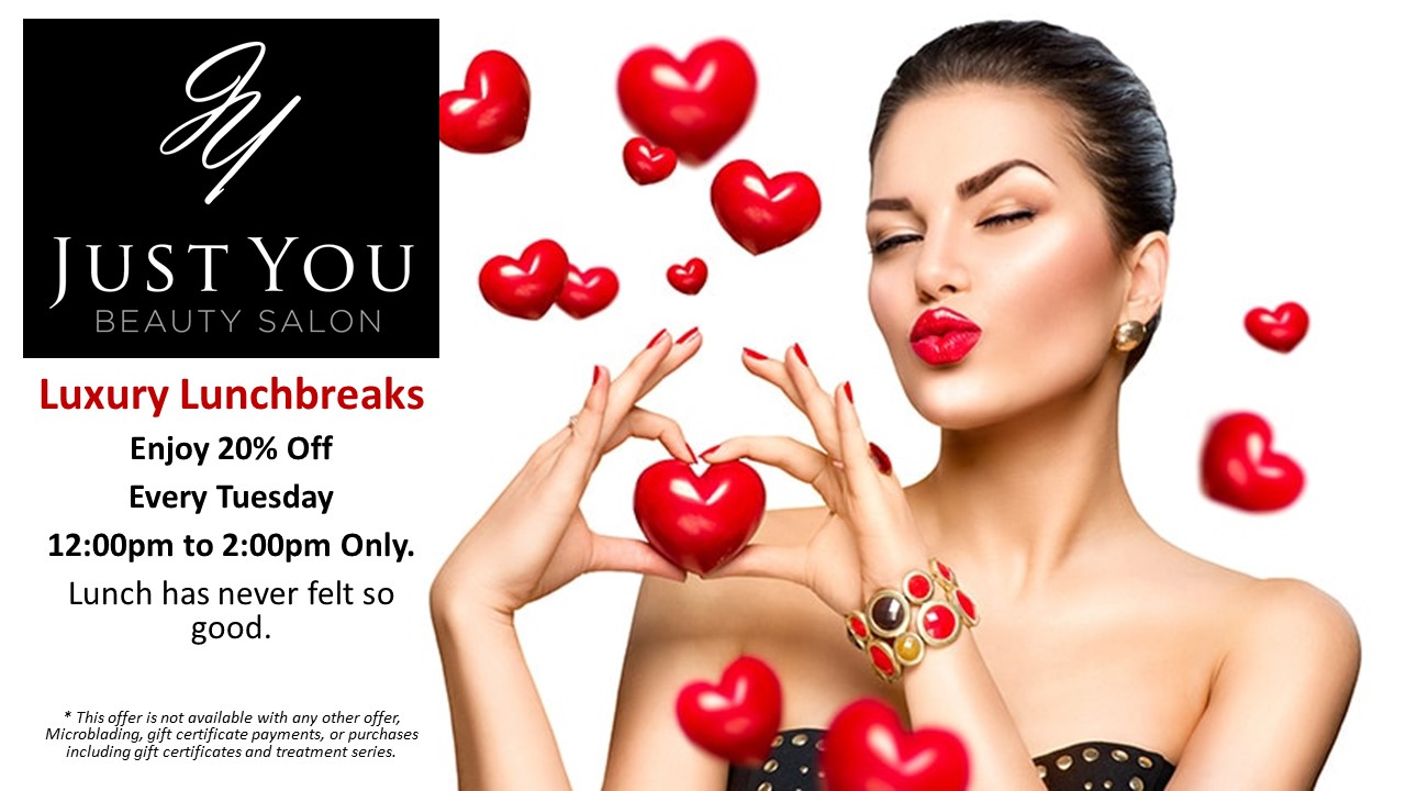Luxury Lunch break Offer Every Tuesday