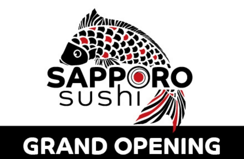 Sapporo Sushi is Now Open