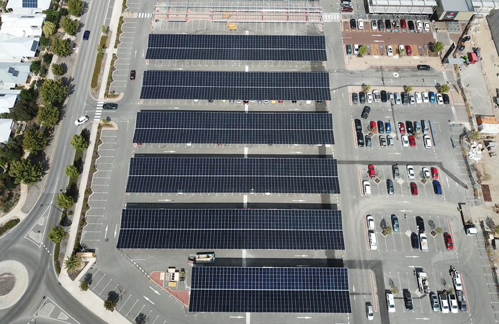 Solar Program Centre Roof