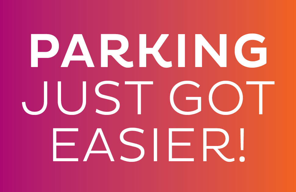 Parking Just Got Easier!